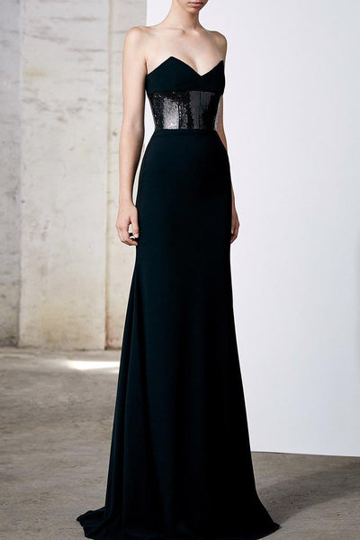 Gunner Strapless Gown Dresses Alex Perry