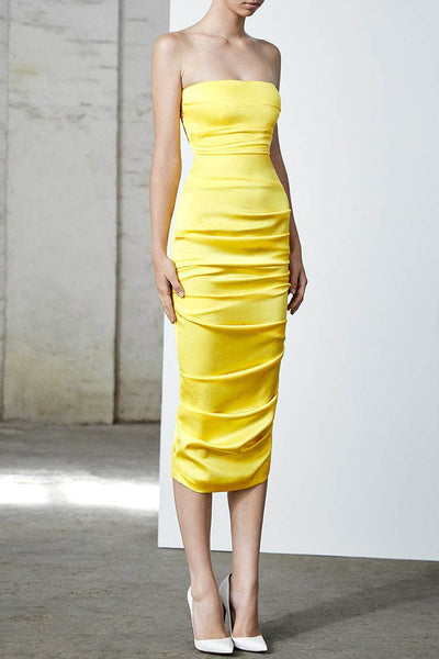 Ace Ruched Strapless Dress | FINAL SALE Dresses Alex Perry