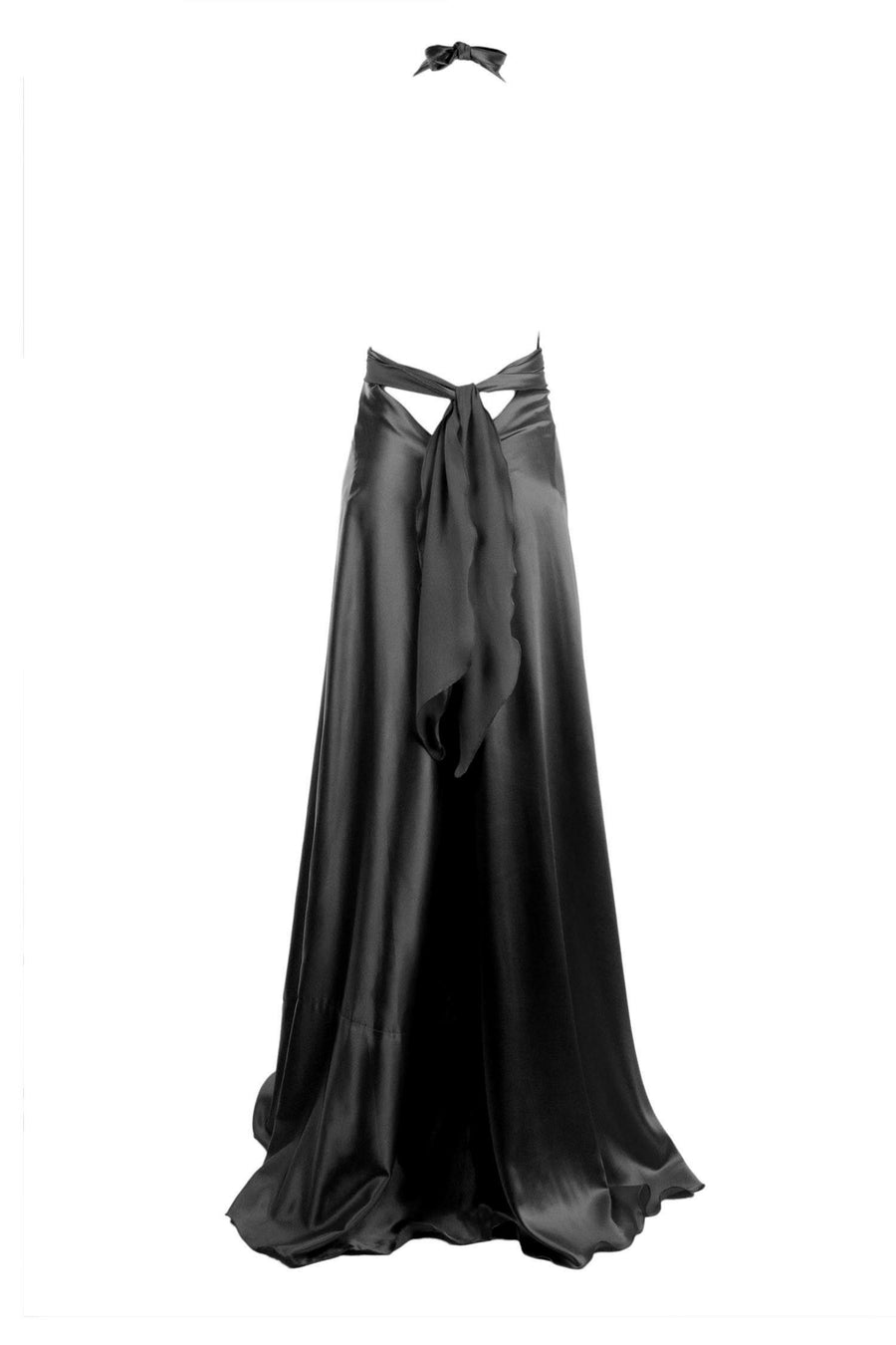Vixen Gown in Black by Lucy Laurita - Leiela Frockaholics.com