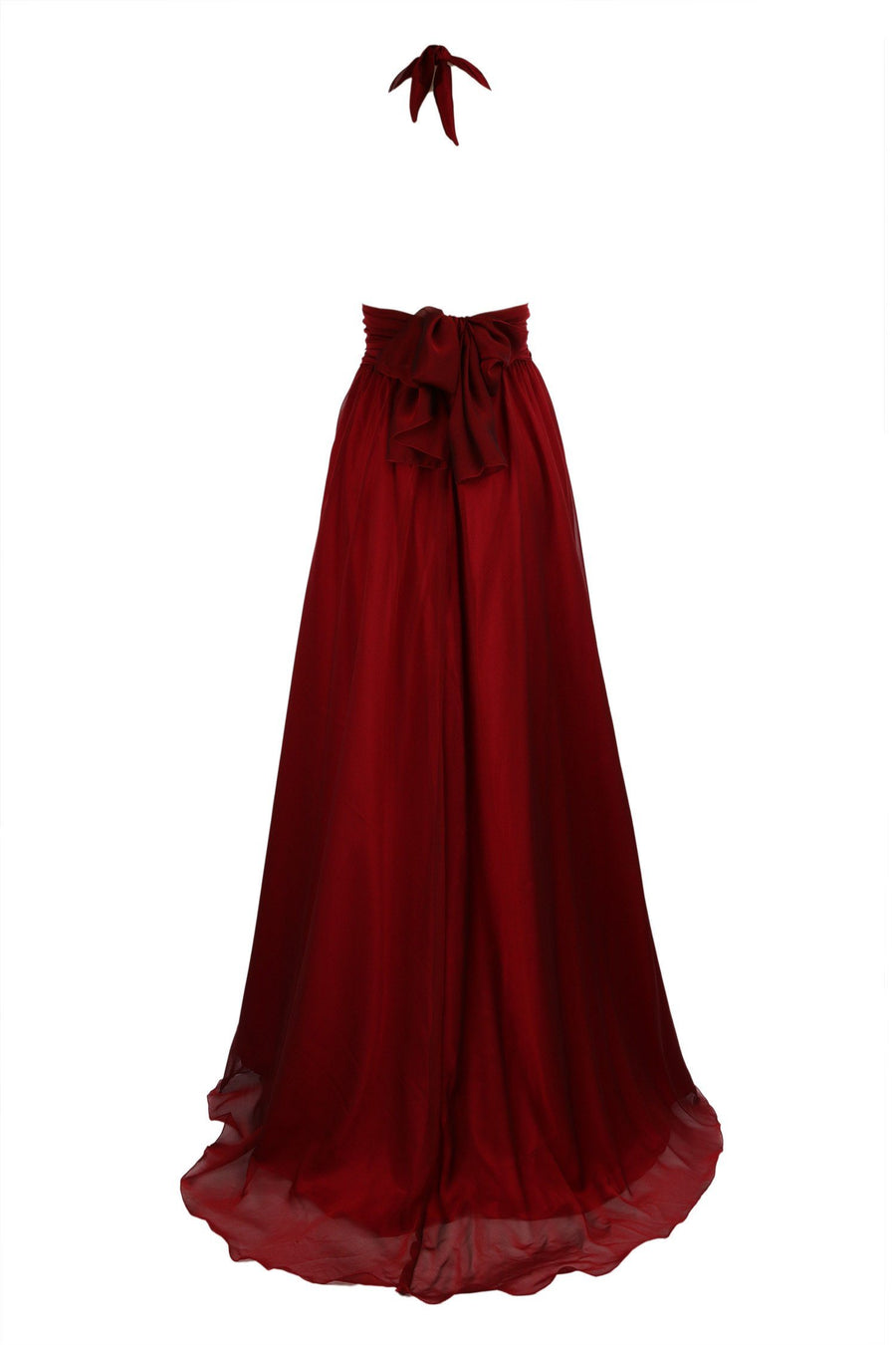 Shop Online Alida Gown in Ruby | Chiffon by Lucy Laurita - Leiela  Frockaholics Dresses