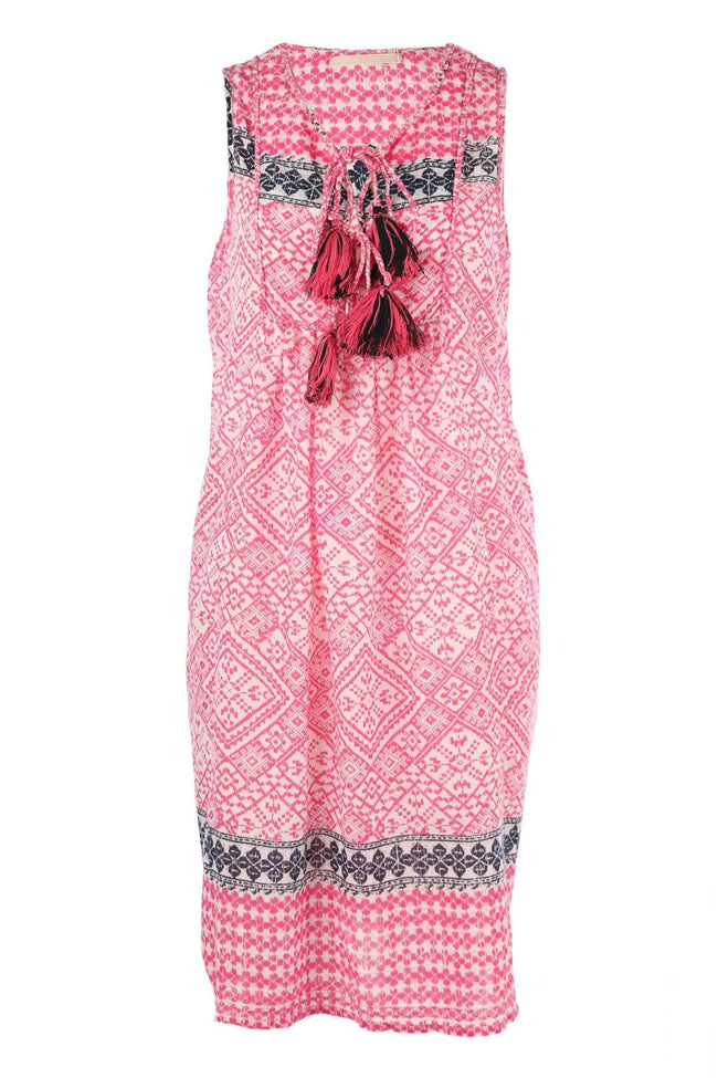 Shop Online Hippy Sleeveless Midi in Cobble Pink | Final Sale by Lola Australia  Frockaholics Dress