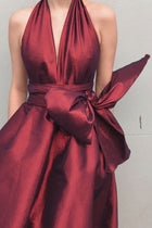 Cameo Bubble Gown in Royal Red