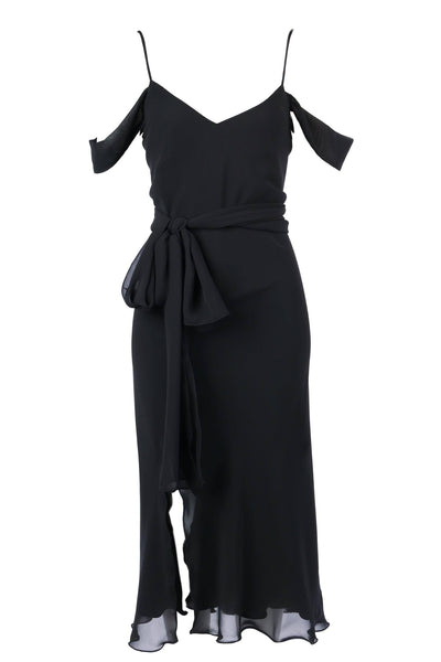 Anais Midi with Split & Belt Dresses Lucy Laurita - Leiela