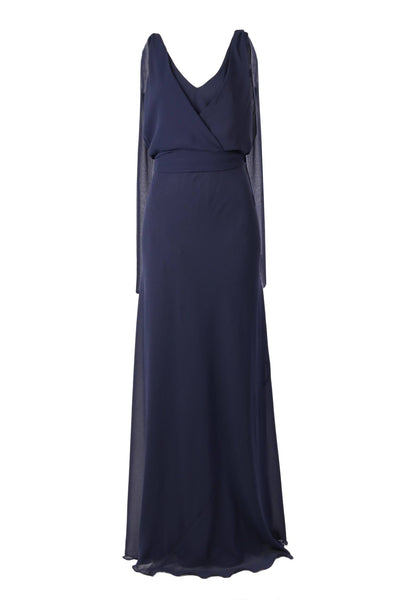 Chiara Gown in Navy Dresses Lucy Laurita - Leiela