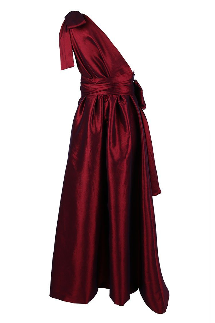 Jacinta Bubble Gown in Ruby