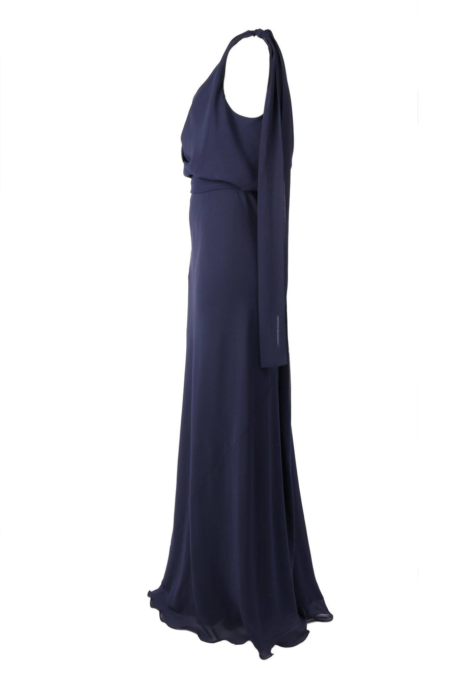Chiara Gown in Navy