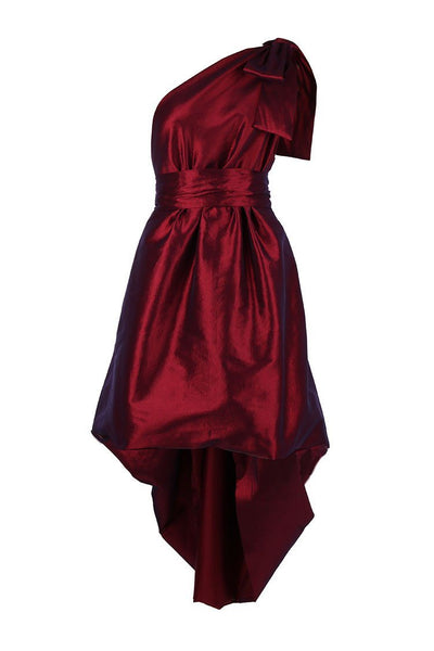 Jacinta Bubble Gown in Ruby Dresses Lucy Laurita - Leiela