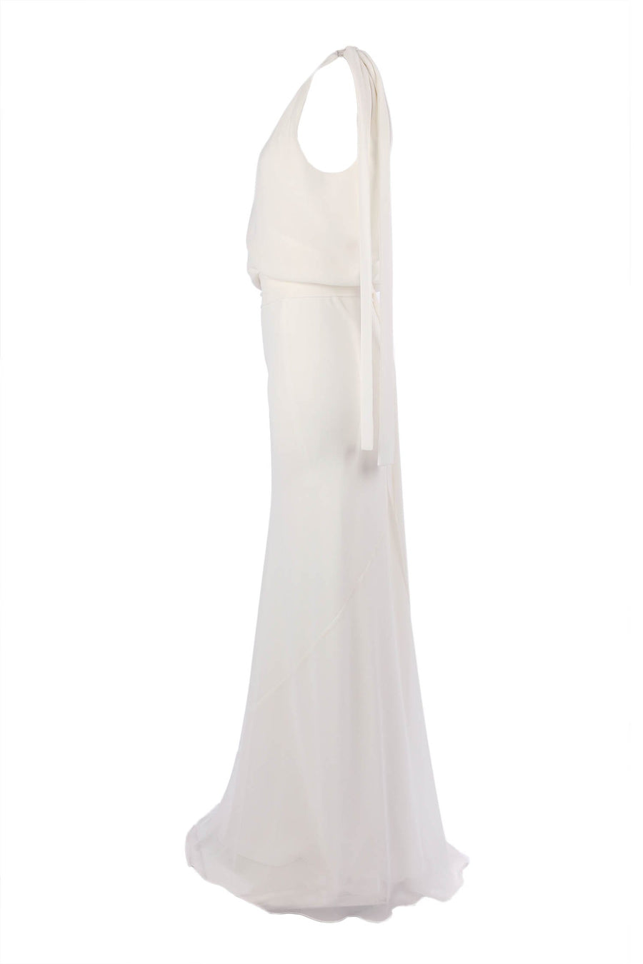 Chiara Gown in Ivory D/L