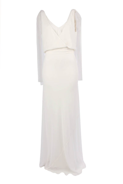 Chiara Gown in Ivory D/L Dresses Lucy Laurita - Leiela