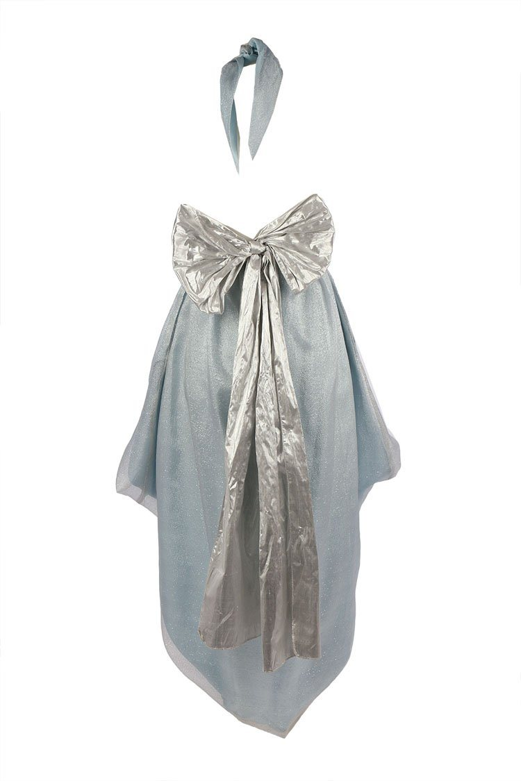 Cameo Bubble Gown in Silver