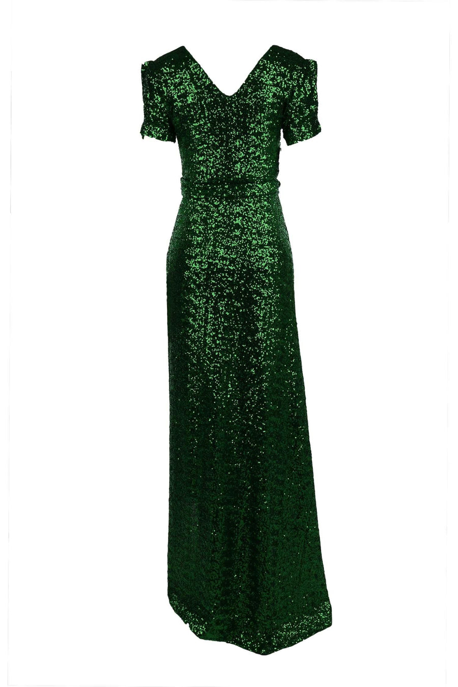 Viva Gown in Green Sequin