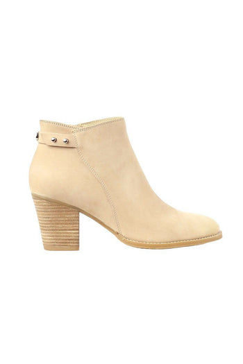 Newsy Nuback in Nude | FINAL SALE