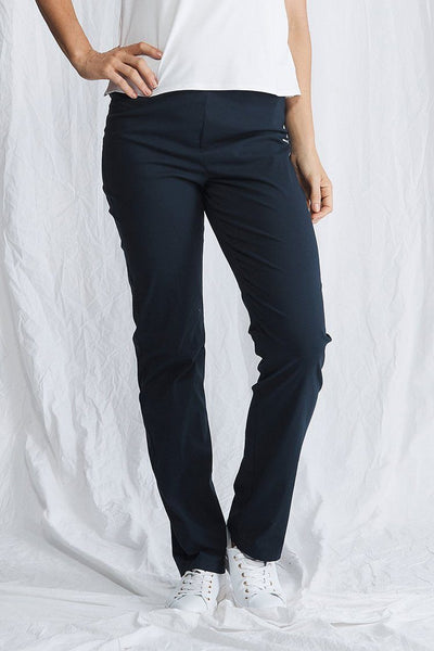Straight Pant in French Navy Bottoms Mela Purdie