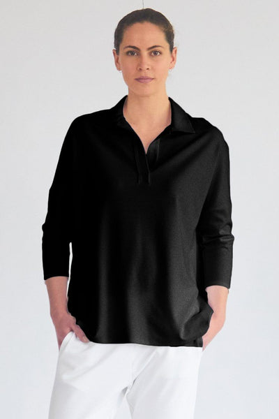 Ace Sweater in Black Tops Mela Purdie