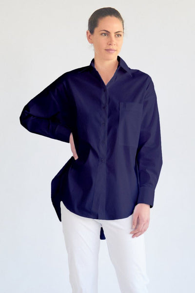 Hero Shirt in Indigo Tops Mela Purdie
