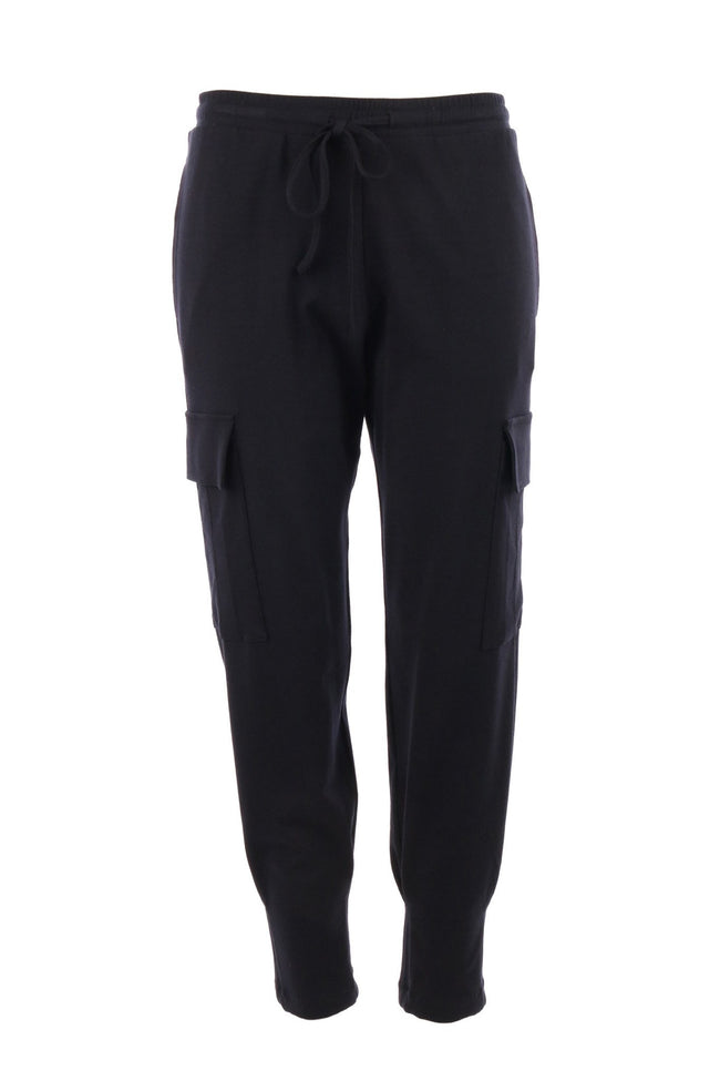 Pocket Track Pant in Black by Mela Purdie Frockaholics.com