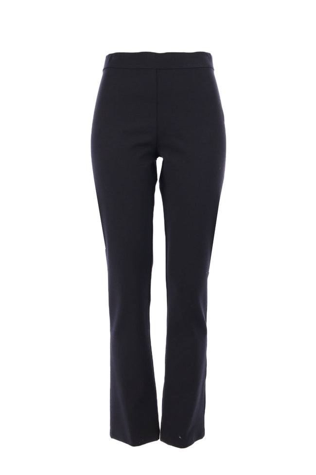 Shop Online Straight Cut Pant in Black by Mela Purdie  Frockaholics Bottoms