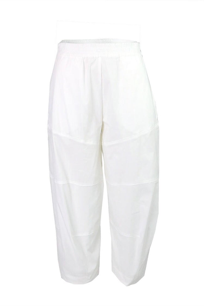 Cropped Tuscan Pant in White