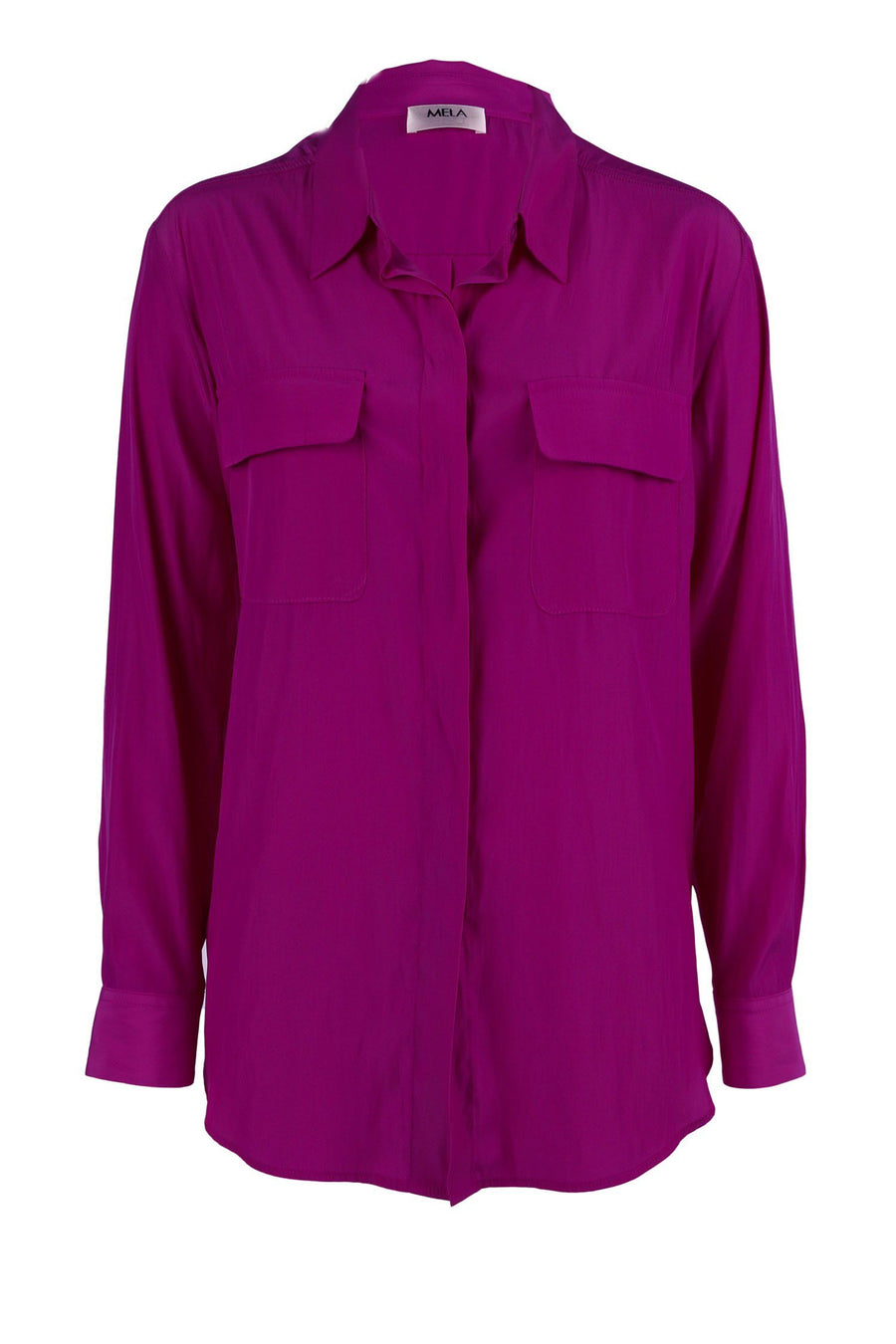 Soft Pocket Shirt in Orchid