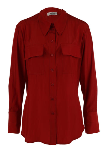 Pocket Shirt in Paprika