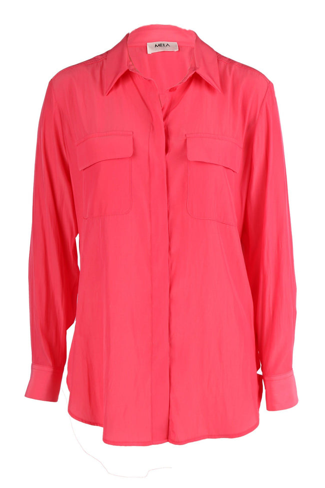 Soft Pocket Shirt in Peach