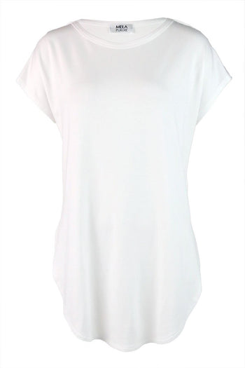 Crescent T in White