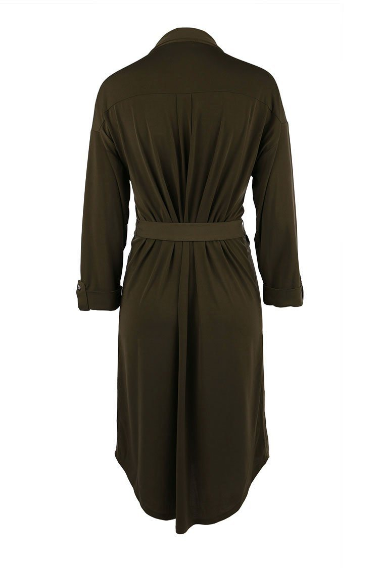 Simona Dress in Khaki | FINAL SALE