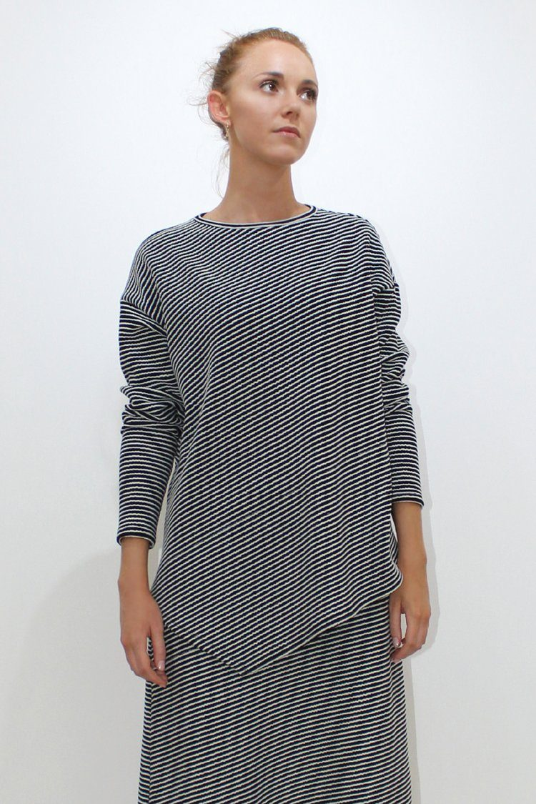 Angle Sweater in Stripe