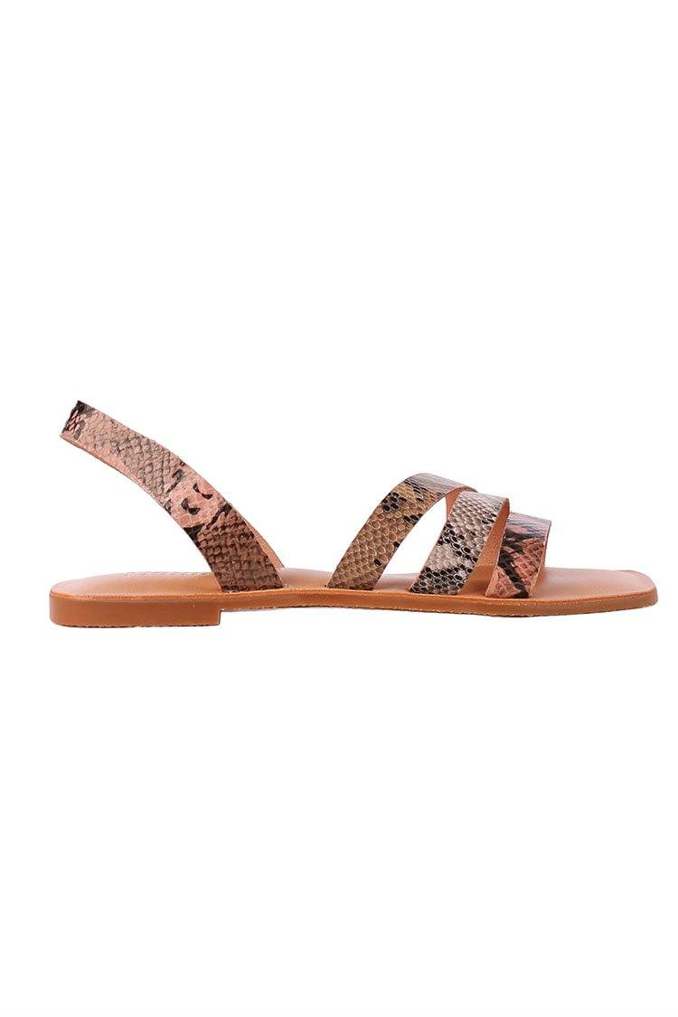 Evver Sandal in Snake | FINAL SALE