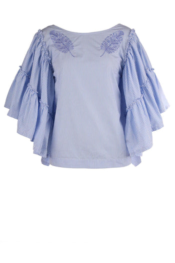 Angel Sleeve Blouse