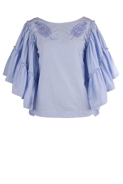 Angel Sleeve Blouse | FINAL SALE Tops Nolita