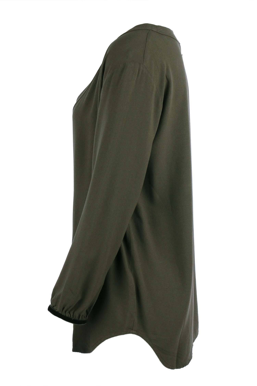 Shop Online Violante Top in Dark Green by Nolita  Frockaholics Tops