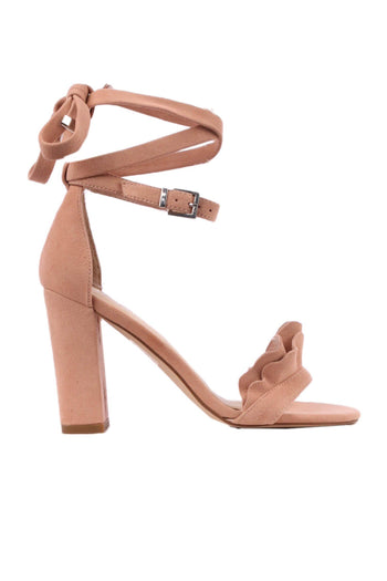 Amalia Heel in Blush