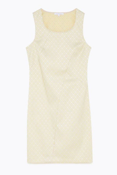 Round Neck Sheath Dress in Sand Dresses Patrizia Pepe