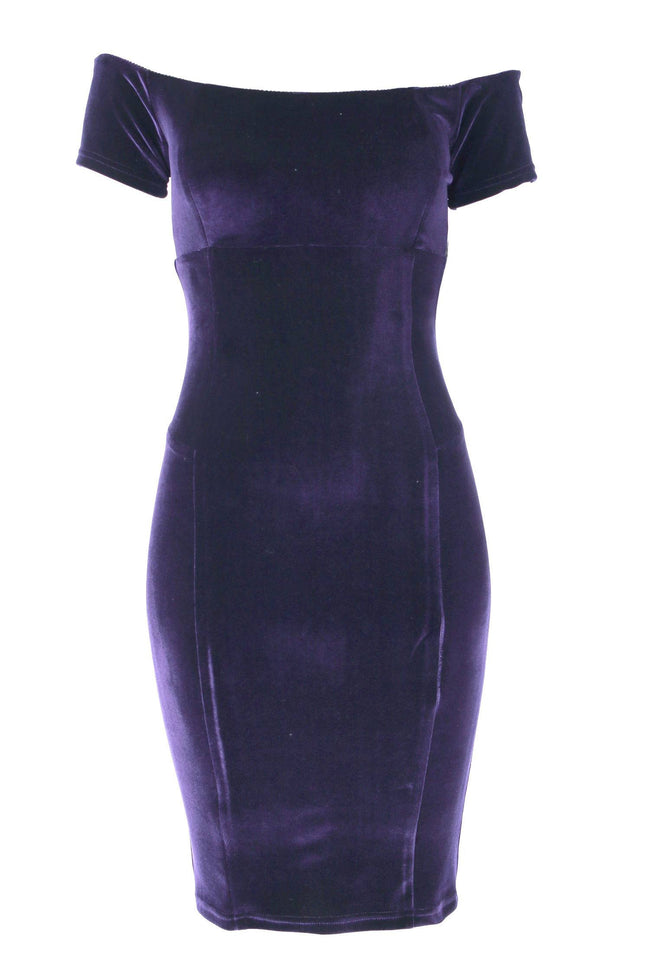 The Cala Velvet Dress by Quba
