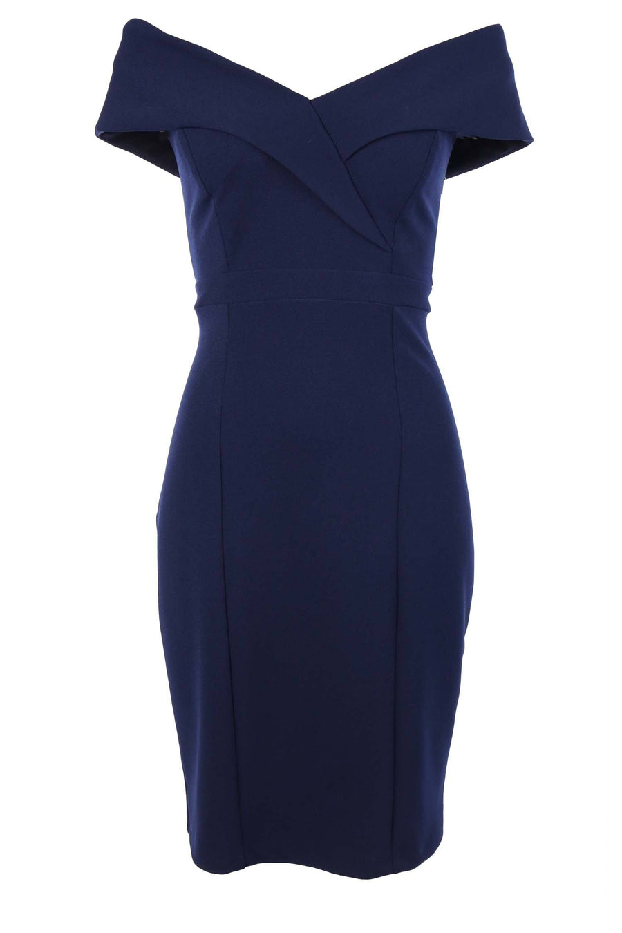 Paulini Short Crepe Dress in Navy
