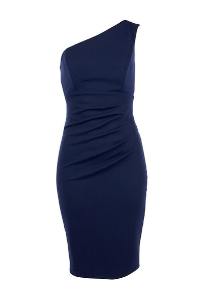 Cassie Cocktail One Shoulder Dress Dresses Quba