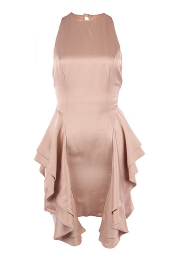 Shop Online Olivia Dress in Blush | FINAL SALE by Quba  Frockaholics Dress