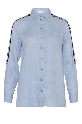 Rosaline Shirt in Pale Blue | FINAL SALE