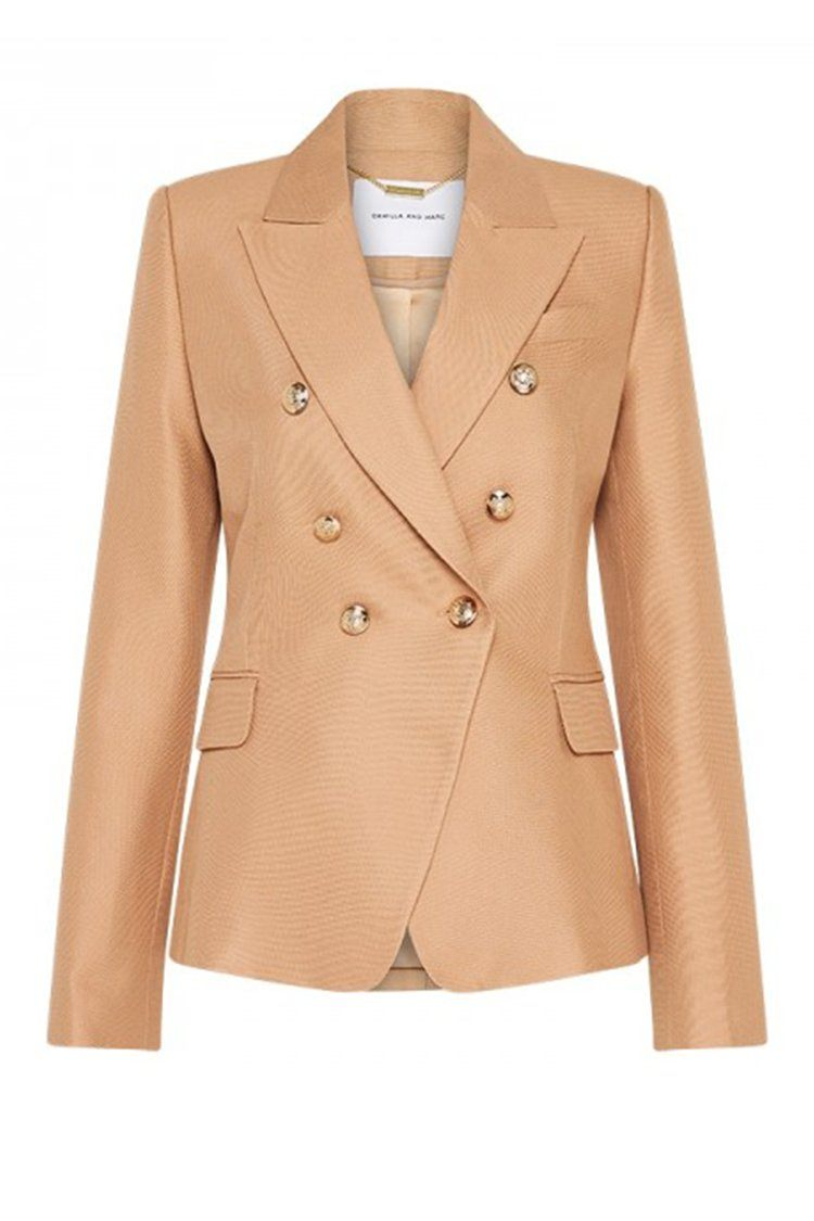 Dimmer Blazer in Tan
