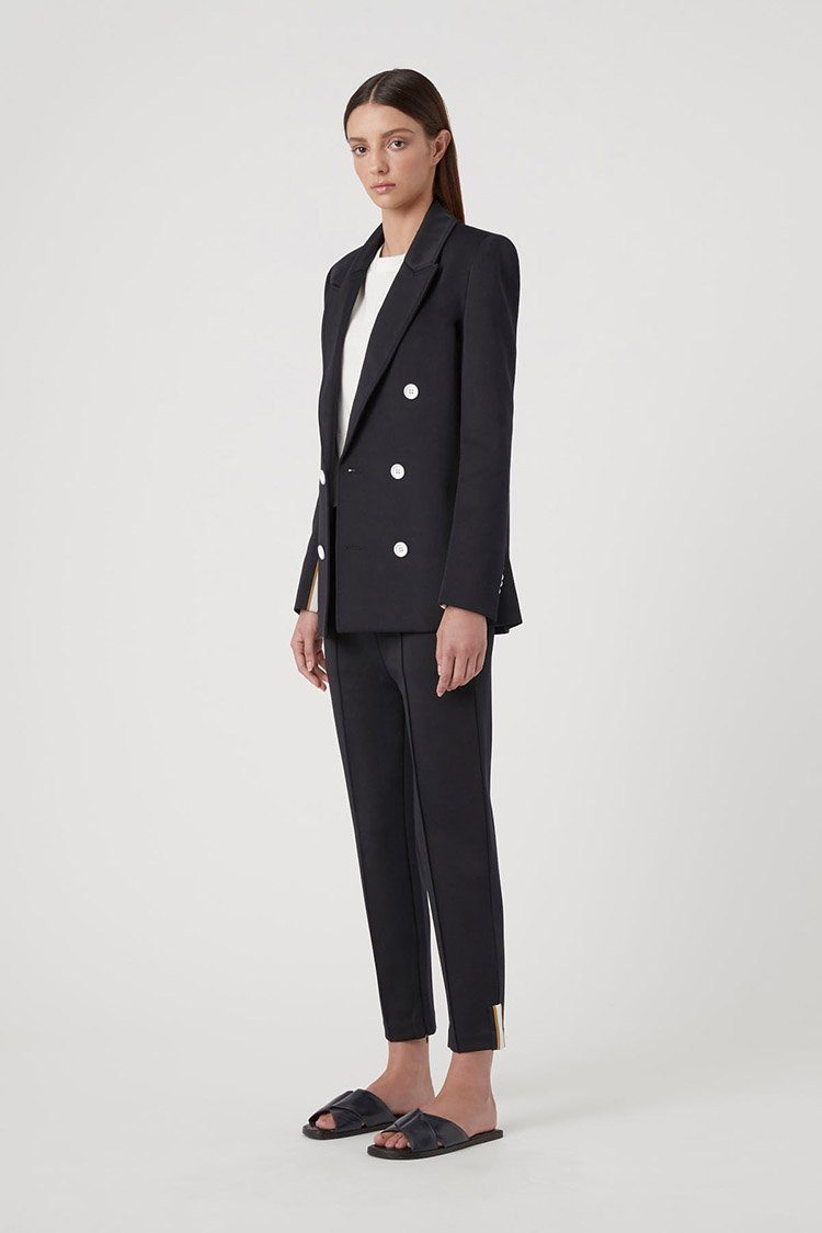 Lara Blazer in Dark Navy