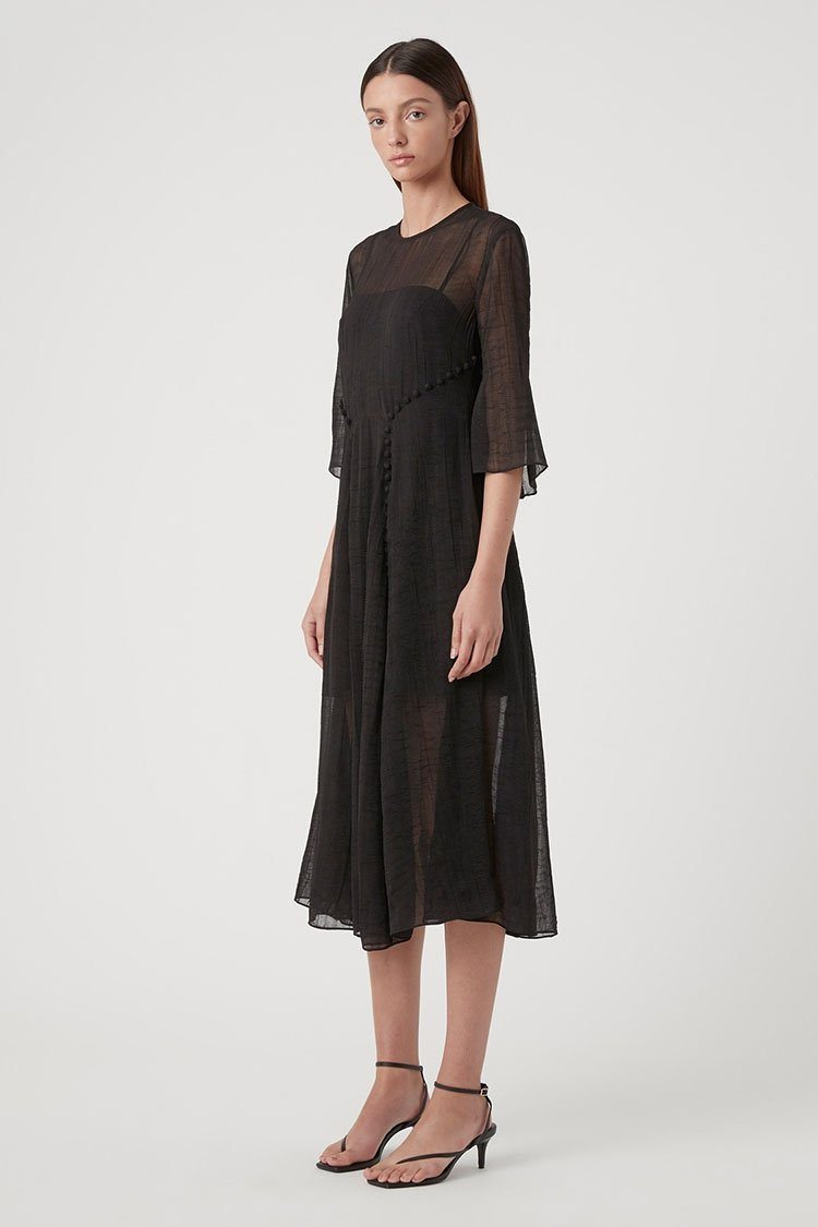 Morel Midi Dress