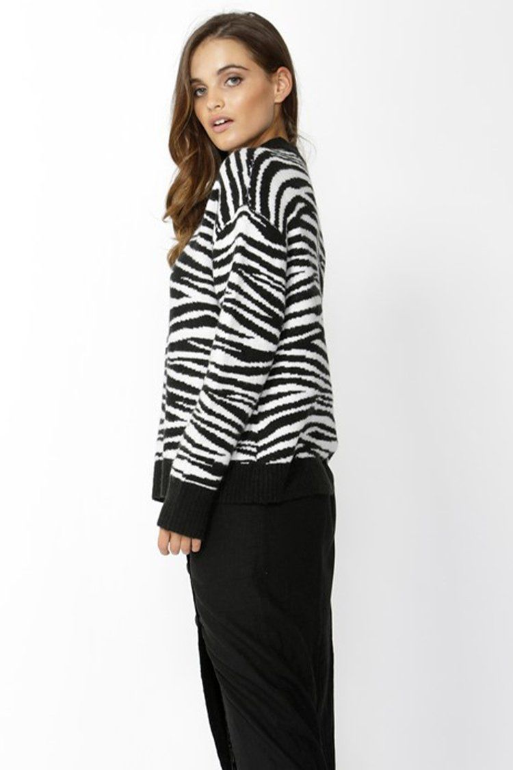 Zebra Crossing Jumper