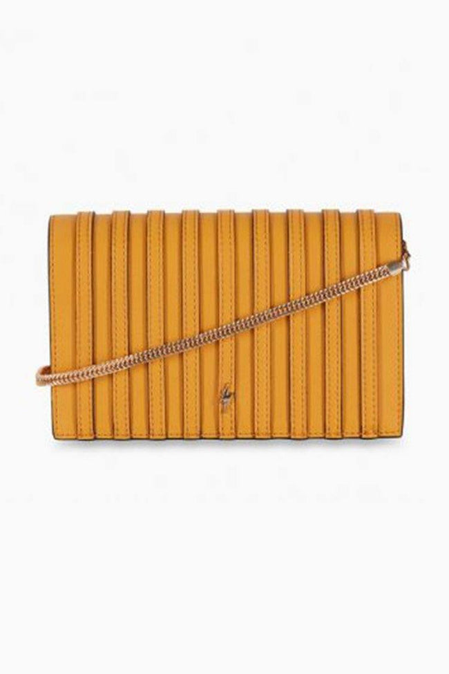 Vivienne Shoulder Bag in Mustard