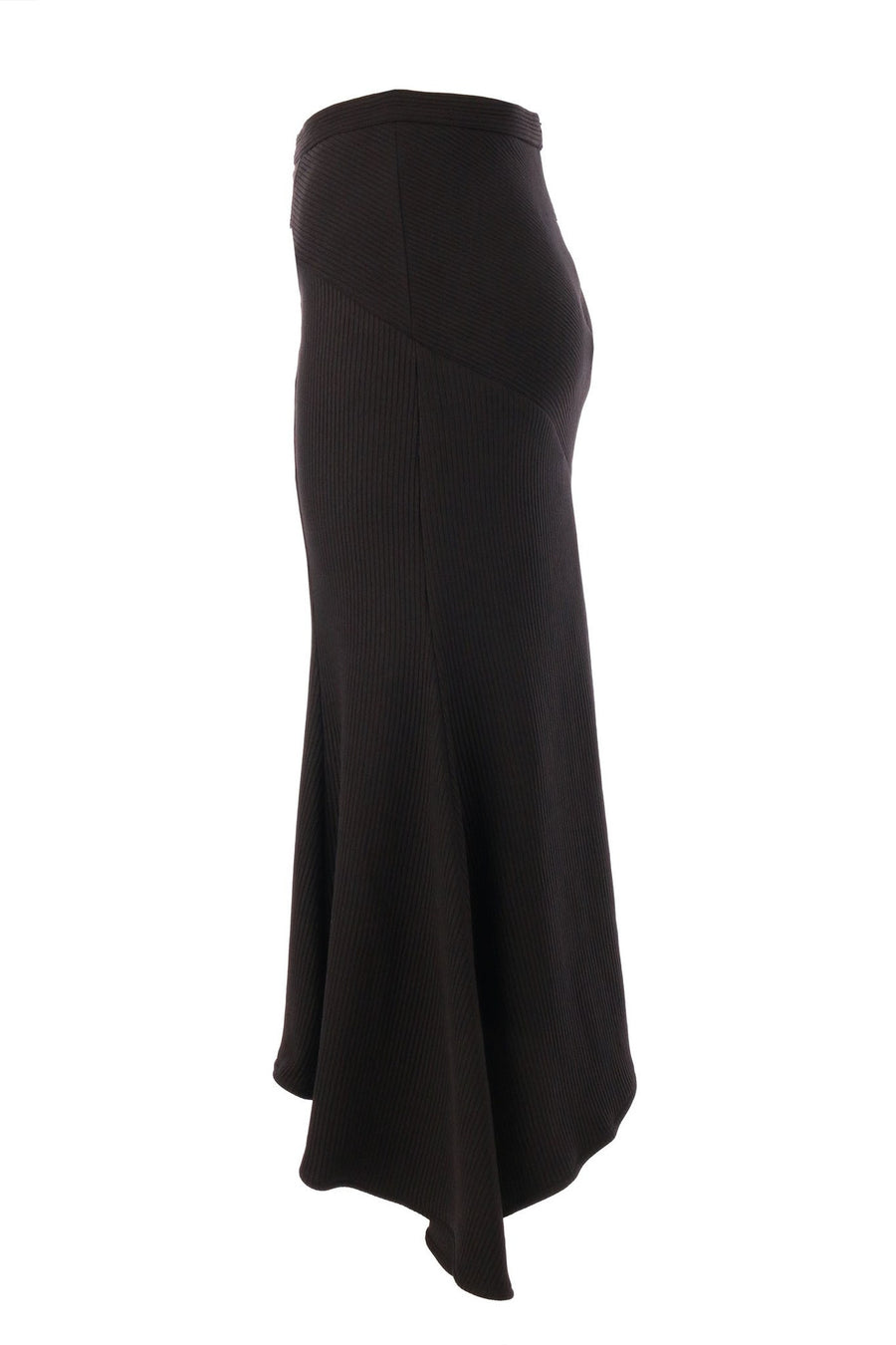 Lori Trumpet Midi Skirt by Shona Joy in black