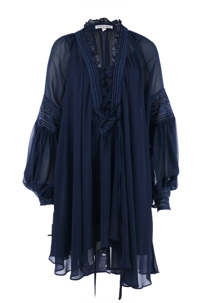 Stevie Oversized Blouse by Shona Joy in Navy