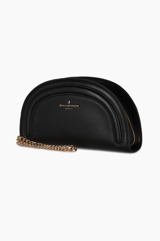 Keely Clutch Bag in Black