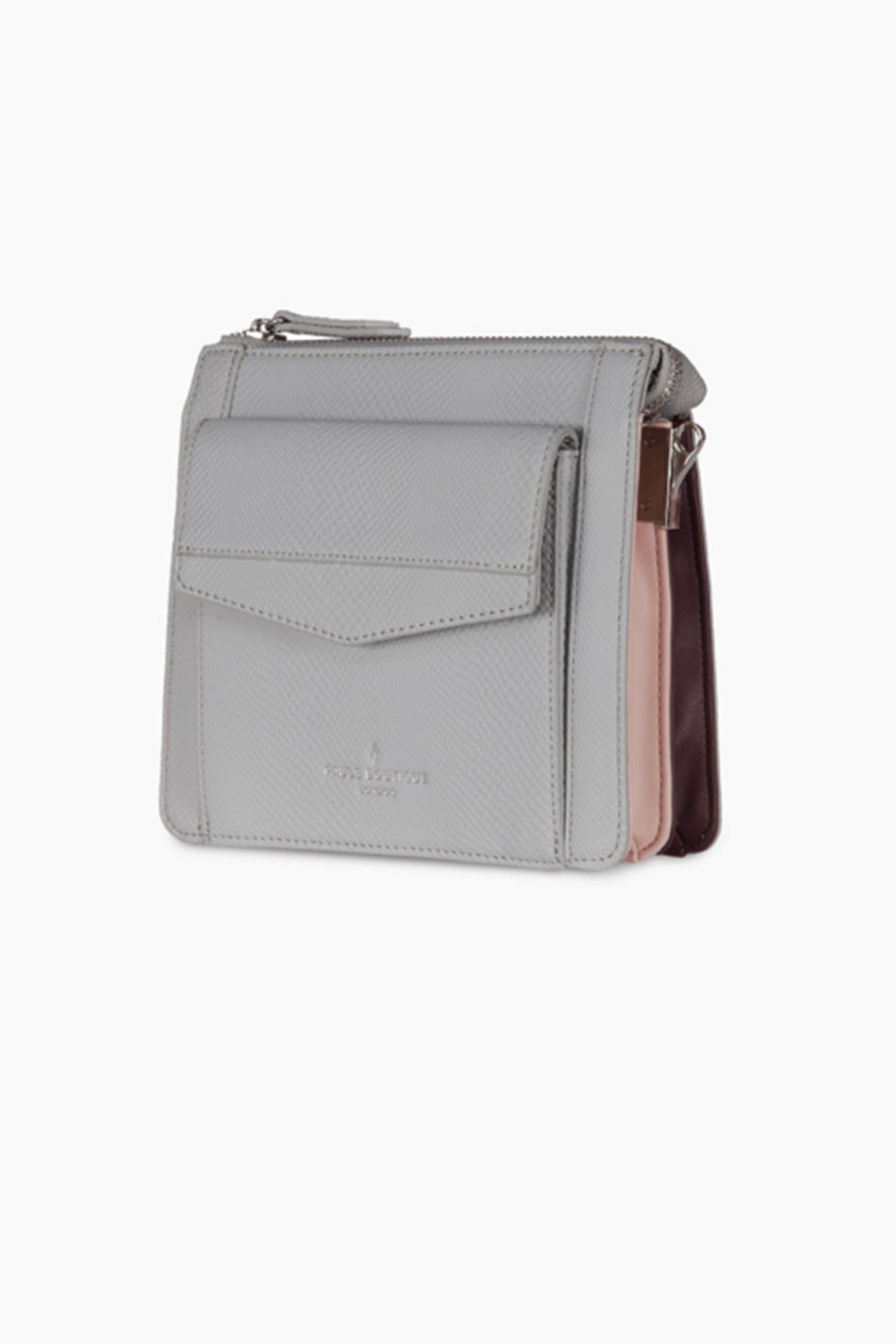 Beth Cross Body Bag in Grey