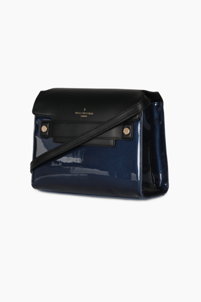 Nancy Cross Body Bag in Navy and Black