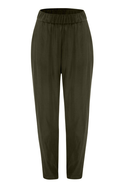 Soft Nomad Pant in Kelp Bottoms Mela Purdie